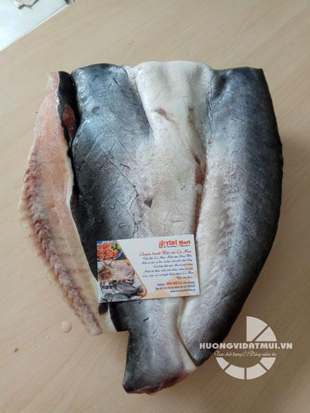 Khô cá dứa một nắng (cá nuôi)