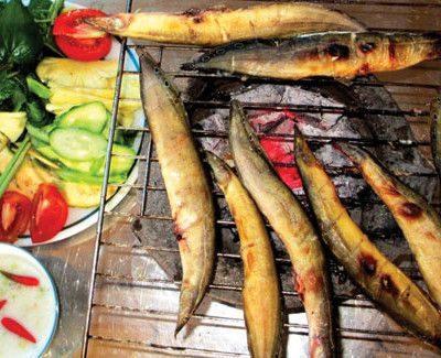 Khô cá chạch nướng muối ớt