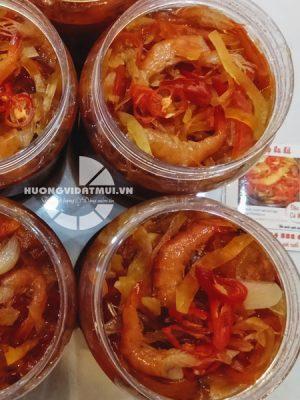 Mắm tôm chua Cà Mau (toàn tôm)